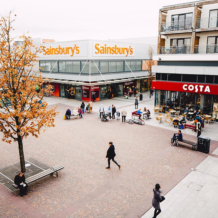 Eden Sqaure Shopping Complex - Urmston